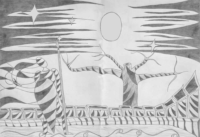 Era Noite – parte 1: Desenhos